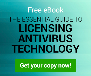 eBook licensing antivirus technology